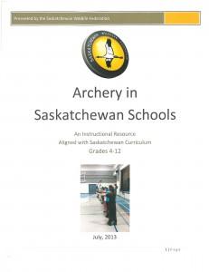Archery in SK Schools